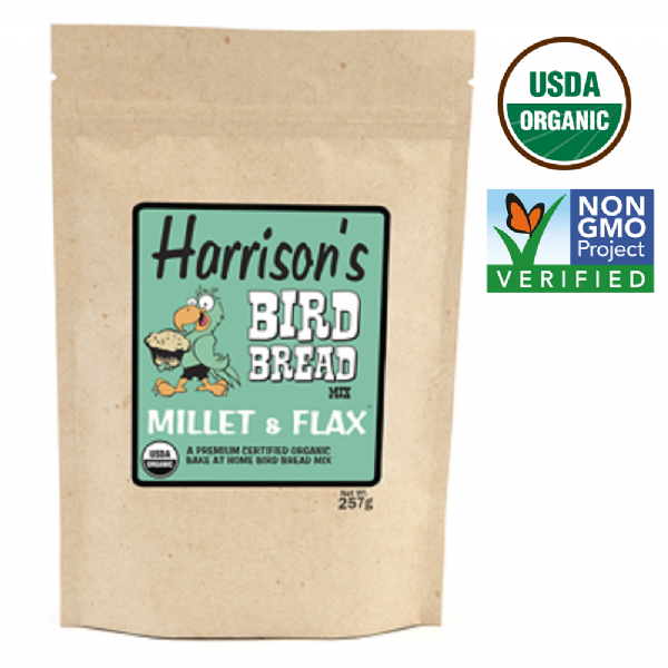 Bird Bread Mix - Millet and Flax